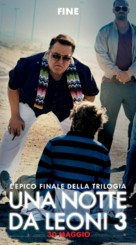 The Hangover Part III - Italian Movie Poster (xs thumbnail)