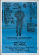 Taxi Driver - Italian Theatrical movie poster (xs thumbnail)