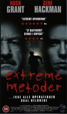 Extreme Measures - Danish VHS movie cover (xs thumbnail)