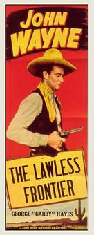 The Lawless Frontier - Movie Poster (xs thumbnail)