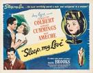 Sleep, My Love - Movie Poster (xs thumbnail)