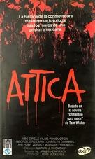 Attica - Spanish VHS movie cover (xs thumbnail)