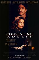 Consenting Adults - Video release movie poster (xs thumbnail)