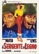 At War with the Army - Italian Theatrical poster (xs thumbnail)