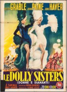 The Dolly Sisters - Italian Movie Poster (xs thumbnail)
