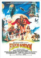 Flash Gordon - Brazilian Movie Poster (xs thumbnail)