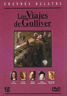 Gulliver's Travels - Spanish DVD cover (xs thumbnail)