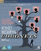 Kind Hearts and Coronets - British Blu-Ray movie cover (xs thumbnail)