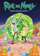 """Rick and Morty"" - Spanish DVD movie cover (xs thumbnail)"