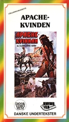 Una donna chiamata Apache - Danish VHS movie cover (xs thumbnail)