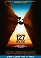 127 Hours - German Movie Poster (xs thumbnail)
