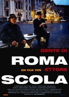 Gente di Roma - German Movie Poster (xs thumbnail)