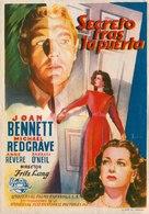 Secret Beyond the Door... - Spanish Movie Poster (xs thumbnail)
