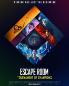 Escape Room: Tournament of Champions - British Movie Poster (xs thumbnail)