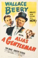 Alias a Gentleman - Movie Poster (xs thumbnail)