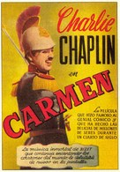 Burlesque on Carmen - Spanish Movie Poster (xs thumbnail)