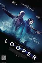 Looper - Danish Movie Poster (xs thumbnail)