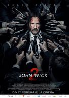 John Wick: Chapter Two - Romanian Movie Poster (xs thumbnail)