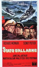 The Bedford Incident - Italian Theatrical poster (xs thumbnail)
