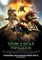 Teenage Mutant Ninja Turtles - Lithuanian Movie Poster (xs thumbnail)