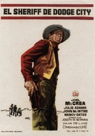 The Gunfight at Dodge City - Spanish Movie Poster (xs thumbnail)