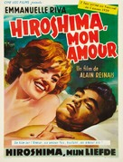 Hiroshima mon amour - Belgian Movie Poster (xs thumbnail)