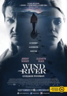 Wind River - Hungarian Movie Poster (xs thumbnail)
