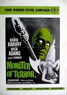 Die, Monster, Die! - British poster (xs thumbnail)