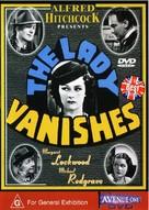 The Lady Vanishes - Australian DVD cover (xs thumbnail)