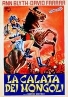 The Golden Horde - Italian Movie Poster (xs thumbnail)