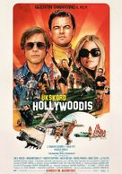 Once Upon a Time in Hollywood - Estonian Movie Poster (xs thumbnail)