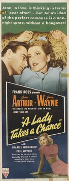 A Lady Takes a Chance - Movie Poster (xs thumbnail)