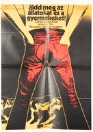 Bless the Beasts & Children - Hungarian Movie Poster (xs thumbnail)