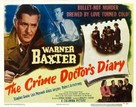 The Crime Doctor's Diary - Movie Poster (xs thumbnail)
