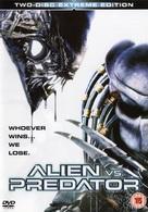 AVP: Alien Vs. Predator - British DVD movie cover (xs thumbnail)