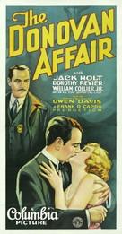 The Donovan Affair - Movie Poster (xs thumbnail)