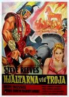 La guerra di Troia - Swedish Movie Poster (xs thumbnail)