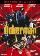 Dobermann - Polish DVD cover (xs thumbnail)
