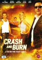 Crash and Burn - Danish DVD cover (xs thumbnail)