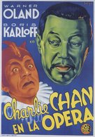 Charlie Chan at the Opera - Spanish Movie Poster (xs thumbnail)