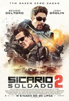 Sicario: Day of the Soldado - Polish Movie Poster (xs thumbnail)