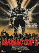 Maniac Cop 2 - French Movie Poster (xs thumbnail)