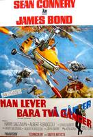 You Only Live Twice - Swedish Movie Poster (xs thumbnail)