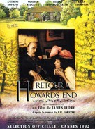 Howards End - French Movie Poster (xs thumbnail)