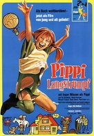 Pippi Långstrump - German Movie Poster (xs thumbnail)