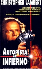 The Road Killers - Argentinian VHS movie cover (xs thumbnail)