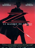 The Mask Of Zorro - French Movie Poster (xs thumbnail)