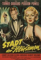 The Bad and the Beautiful - German Movie Poster (xs thumbnail)