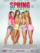 Spring Breakers - Canadian Movie Poster (xs thumbnail)