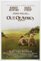 Out of Africa - Australian Movie Poster (xs thumbnail)